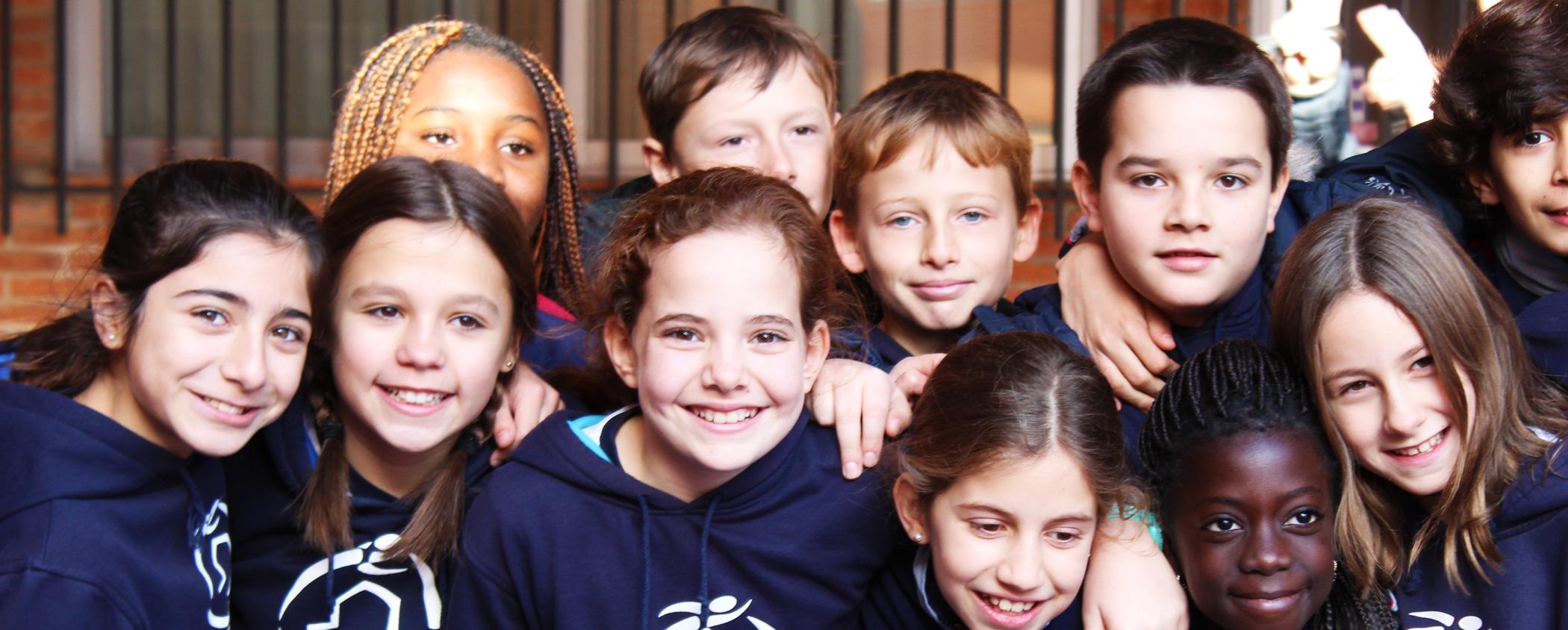 Alumnos colegio Ciudad Lineal Madre de Dios
