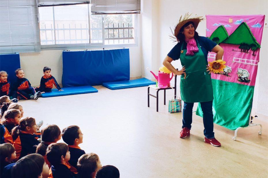 profesora teatro con niños