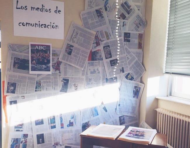 medios comunicacion escuela