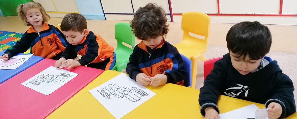 escuela infantil Madre de Dios Ciudad Lineal