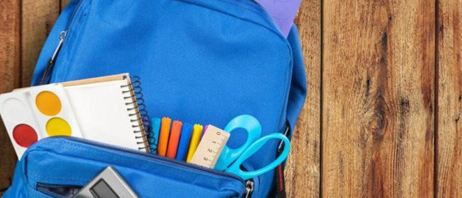 mochila colegio